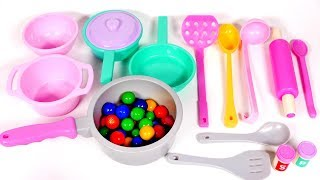 Pots Pans and Dishes Playset for Kids | Yippee Toys Video