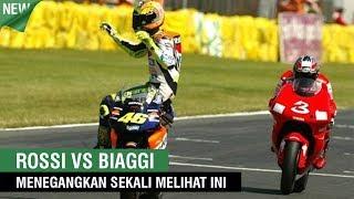Menegangkan Valentino Rossi vs Max Biaggi Di Berbagai Sirkuit MotoGP Bikin Penonton Heboh