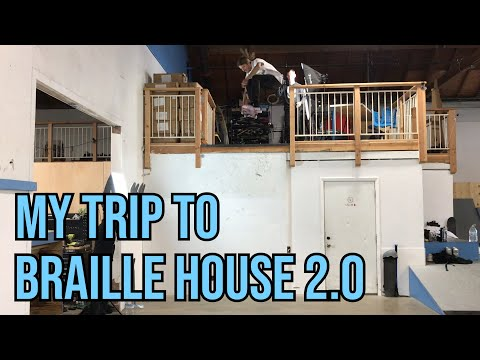MY TRIP TO BRAILLEHOUSE 2.0 - WITH JAWS AND A HAPPY MEDIUM