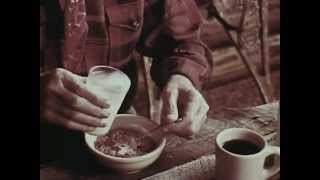 1970's Grape Nuts Commercial featuring Euell Gibbons
