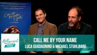 Director Luca Guadagnino & Michael Stuhlbarg | Call Me by Your Name (2017)