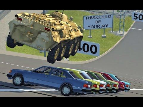 BeamNG Drive INSANE CRASHES #68