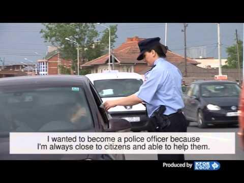 Kosovo Police - Female Officer