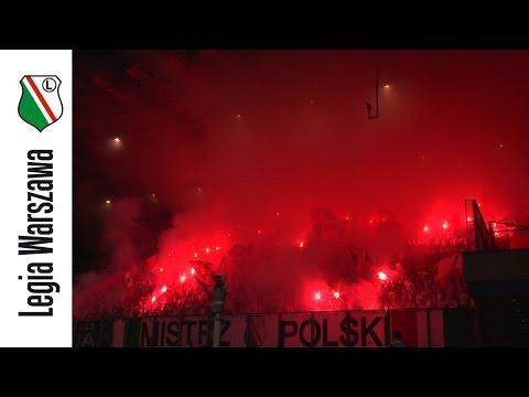 Oprawa Kibiców Legii W Krakowie
