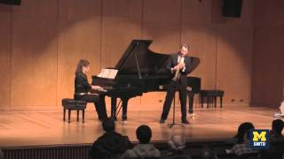"U-M Saxophonist Timothy McAllister Performs ""Streetlegal"" by Roshanne Etezady"