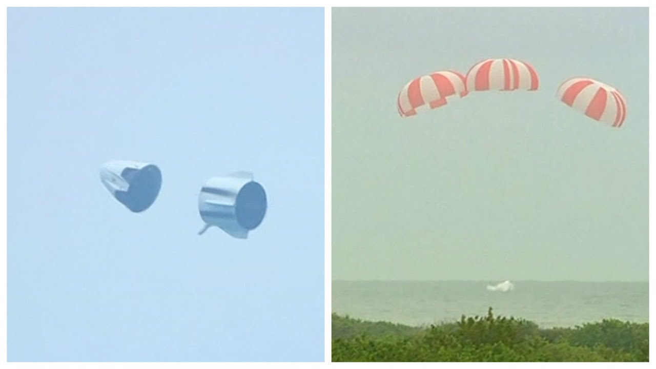 RAW: SpaceX tests Dragon's astronaut escape system