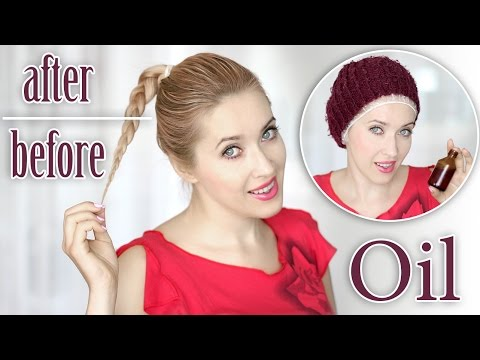 How to grow your hair longer and thicker, faster! ★ Scalp oiling!