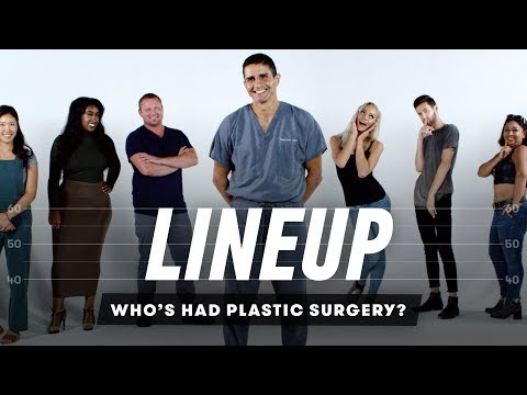 Guess Who's Had Plastic Surgery | Lineup | Cut