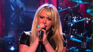 Hilary Duff - Fly Live - The Tonight Show With Jay Leno 2004 - HD