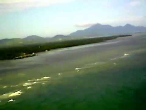 Aerial View landing @ Puerto Princesa Airport Palawan