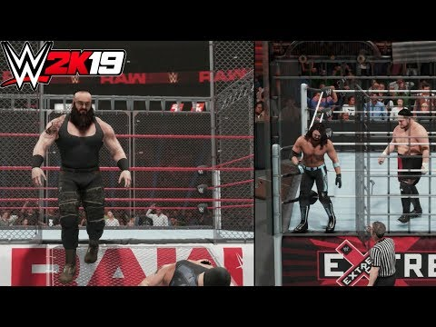 WWE 2K19: 9 Awesome NEW Features Added To Cage Matches