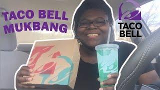 Taco Bell Nacho Fries Mukbang (Eating Show)