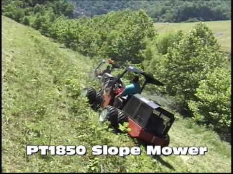 Power Trac PT1850 Slope Mower