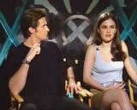 Hugh Jackman Anna Paquin promote X-Men 1  X1