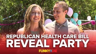 Republican Health Care Bill Reveal Party