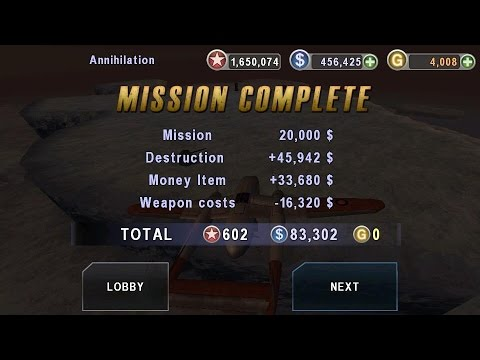 GUNSHIP BATTLE- HOW TO EARN $ AND GOLD EASILY