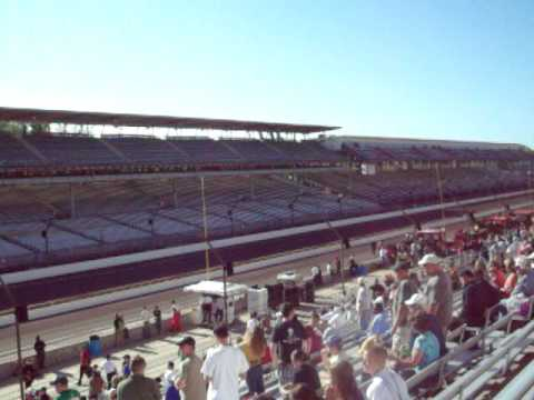 John Andretti makes it into the Indy 500