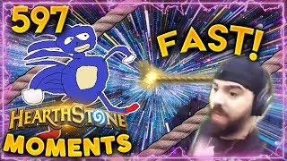 Rope Faster Than Light!! | Hearthstone Daily Moments Ep. 597