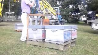 Манипуляторы для погрузки ульев