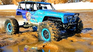 $165 for Axial Wraith or Vaterra Twin Hammers — Test Drive RC Car WLtoys Track – Mud, Stones, Sands