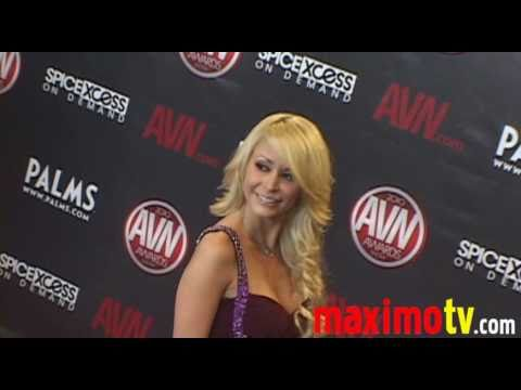MONIQUE ALEXANDER Arriving at 2010 AVN AWARDS SHOW Las Vegas January 9 Video