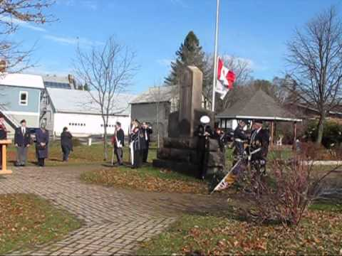 Remembrance Day 2012   Powassan