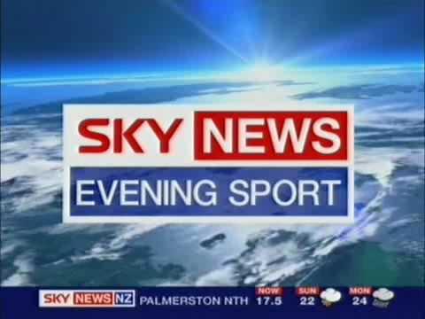 Sky News - Evening Sport
