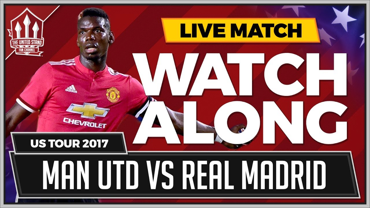 MAN UTD vs REAL MADRID | LIVE United Stand WATCHALONG