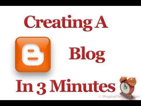 how to create blogger  in tamil