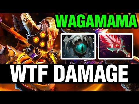 WTF DAMAGE - Wagamama Plays Clinkz - Dota 2