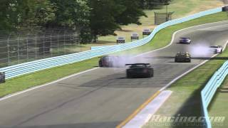 iRacing Top 5 Crashes of the week #1