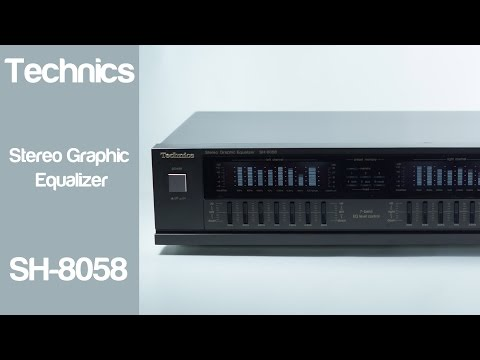 Technics SH-5058 Stereo Graphic Equalizer