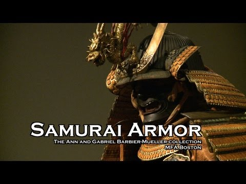 Boston MFA  Japanese Samurai Armor Exhibition Opens Barbier-Mueller Collection