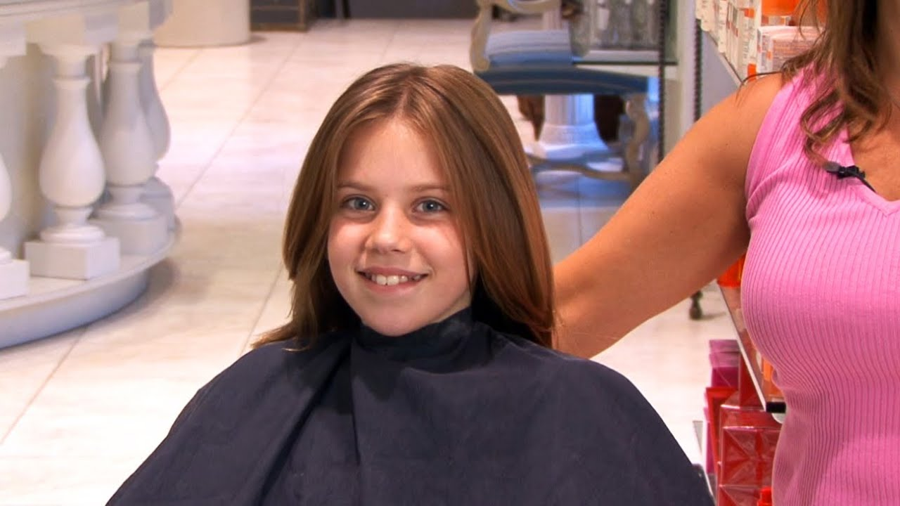 Kids Long Layered Haircut Youtube