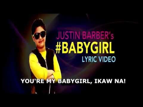 BABYGIRL lyric video by JUSTIN BARBER