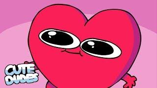 CUTE DUDES - Happy Valentine's Day