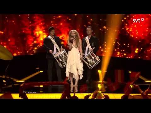 Emmelie De Forest ~ Only Teardrops [Denmark] (Eurovisi&Atilde;&sup3;n Song Contest 2013 SemiFinal 1)