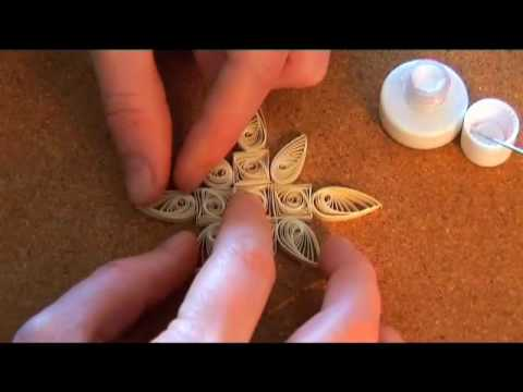 Quilling Basics &amp  Quilled Christmas Decorations