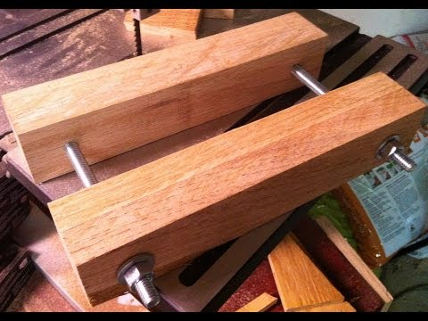 Home made Scrollsaw vise a must for cutting small .mp3