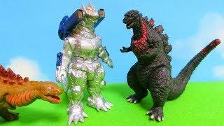 Godzilla Soft Vinyl Miniature Figures - Japanese Candy Toys