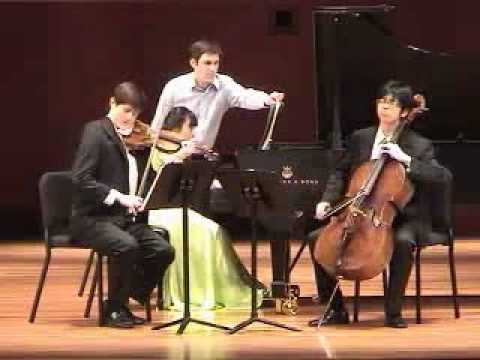 Mendelssohn Piano Trio in c minor, 4th mov.