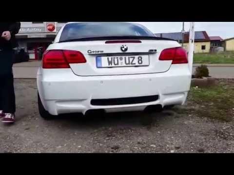 BMW M5 F10, E60 M5, E92 E93 M3, 1er M Coupé, X6M, M235xi exhaust Sound GPower