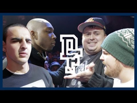 DON'T FLOP - Rap Battle - Dialect & Zen Vs Bowski & Big Sarters