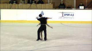 Cagla DEMİRSAL and Berk AKALIN .ISU Bosphorus Junior Grand Prix 2012 SHORT PROGRAM