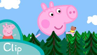 Peppa Pig Episodes - Giant George (clip) - Cartoons for Children
