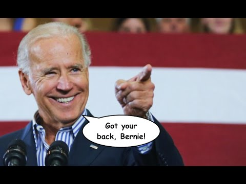 Joe Biden Comes to Bernie Sanders' Defense
