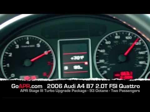 Apr Audi B7 A4 Quattro 2 0t Fsi Stage 3 93 Octane