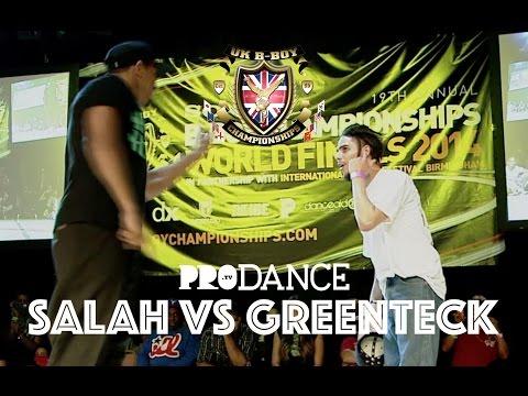 Salah Vs Greenteck | Uk B-boy Championships 2014 - Popping Semi Final video
