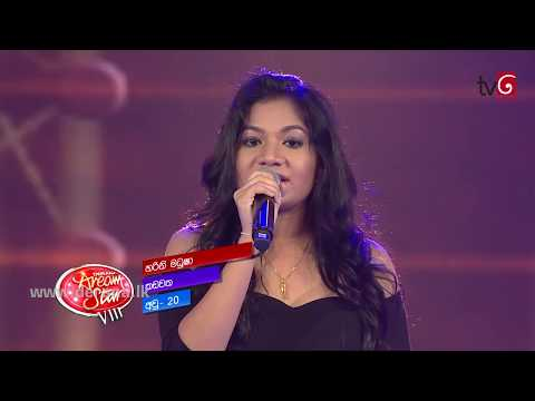 Sanda Savi Maa - Harini Madusha @ Dream Star Season VIII on TV Derana ( 21-07-2014 )