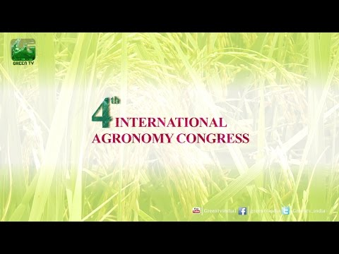 Announcement of Inaugration of 4th International Agronomy Congress Green TV